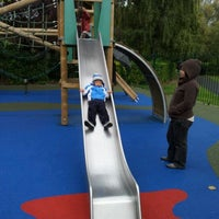 Photo taken at St Stephen's Green Playground by nik a. on 9/25/2011