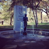 Photo taken at Fuente a Ruben Darío by Mariangeles D. on 8/25/2012