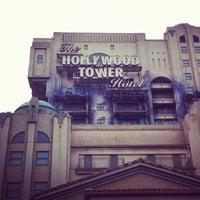 Photo taken at The Twilight Zone Tower of Terror by Vasilisa P. on 7/12/2012