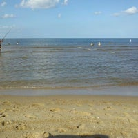 Photo taken at Oceanview Beach by Nile G. on 8/5/2012