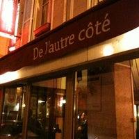 Photo taken at De l'Autre Côté by @PasVuParis on 11/22/2011