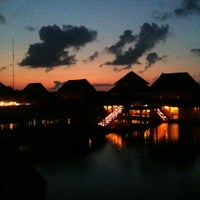 Photo taken at Grand Palladium White Sands Resort & Spa by Juan Ignacio D. on 5/12/2012