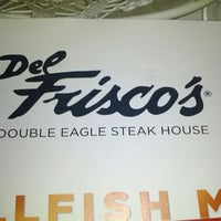 Photo taken at Del Frisco's Double Eagle Steakhouse by Trung P. on 1/24/2012