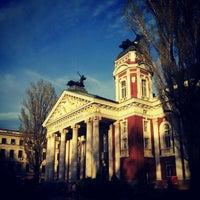 Снимок сделан в Градинката пред Народен театър пользователем K. M. 4/11/2012