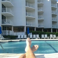 Photo taken at Hutchinson Island Marriot Sandpipper by Crystal J. on 4/23/2012