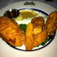 5/24/2011 tarihinde Byron B.ziyaretçi tarafından Blue Ribbon Brasserie'de çekilen fotoğraf