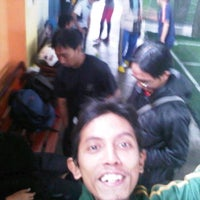 Photo taken at Futsal 1818 Ceria by Muhammad N. on 1/15/2012