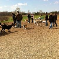 Photo taken at Du Page Forest Preserve Dog Park by Stefanie on 4/17/2011