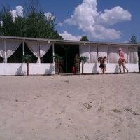 Photo taken at Корчагин Парк - Beach Club by Irina P. on 7/29/2012