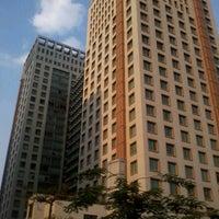 Photo taken at Jl.Teluk Betung 1 Depan Hotel Ascott by Zainal A. on 9/12/2012