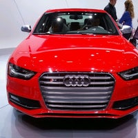 Photo taken at Audi Stand at Detroit Auto Show by urmilesh d. on 1/21/2012