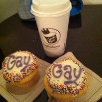 Photo taken at Cupcake Royale and Vérité Coffee by Chris S. on 6/11/2011