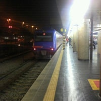 Photo taken at Estação Guaianases (CPTM) by Pedro R. on 7/26/2012