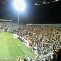Photo taken at Bloomfield Stadium by Ohad G. on 8/29/2011