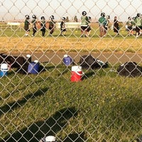 Photo taken at Andrews Football Practice by Patrick G. on 8/6/2011