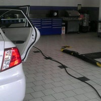 Photo taken at Johnson Hyundai of Cary by chimey c. on 1/26/2012