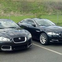 Photo taken at Jaguar Hartford by Johnnybgood on 10/5/2011