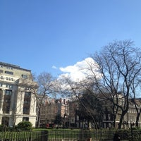 Photo taken at Bloomsbury Square by Citrus O. on 3/19/2012
