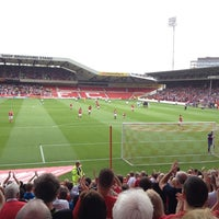 Photo taken at The City Ground by Anna S. on 8/18/2012