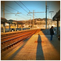 Photo taken at Stazione La Spezia Migliarina by Danilo R. on 1/24/2011