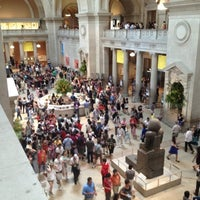 Photo taken at The Great Hall Balcony Bar at The Metropolitan Museum of Art by Alena S. on 7/26/2012