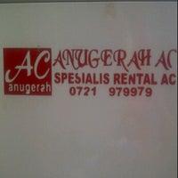 Photo taken at anugerah ac by David S. on 9/27/2011