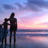 Photo taken at Bradenton Beach by Kelly K. on 11/4/2011