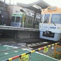 Photo taken at Hamadayama Station by Tatsuyeah on 10/9/2011