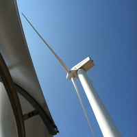 Photo taken at MidAmerican Energy Wind Turbine & Education Center by Christopher G. on 8/15/2012