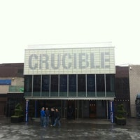 Photo taken at Crucible Theatre by Gaz on 4/27/2012
