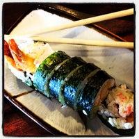 Photo taken at Shin's Sushi Bar by Lisa-Marie J. on 4/2/2012