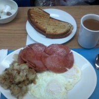 Photo taken at Franks Deli & Restaurant by Mark O. on 3/11/2012