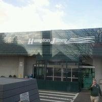 Photo taken at Hampton Jitney - Southampton by H H. on 2/25/2012