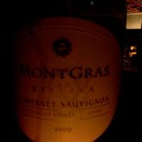 Photo taken at Saluté Wine Bar by Jaime G. on 11/5/2011