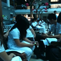 Photo taken at CDU Main Lobby by Atina Veronica C. on 4/27/2012