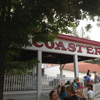 Photo taken at Rollo Coaster by Robert Z. on 8/9/2012