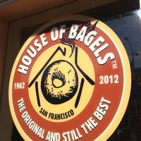 Photo taken at House Of Bagels by Ron P. on 12/22/2011