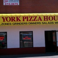 Photo taken at New York Pizza House by Len L on 5/18/2012