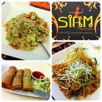 Photo taken at Siam Thai Cuisine by Stefanie Joyce L. on 8/11/2012