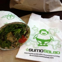 Photo taken at Sumo Salad by Heather P. on 1/27/2011