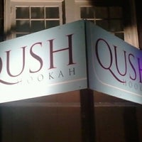Photo taken at Qush Hookah Lounge by Chris C. on 9/11/2011