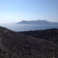 Photo taken at Volcano of Santorini by derya a. on 7/31/2012
