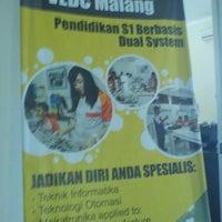 Photo taken at Joint Program VEDC Malang by Beni K. on 8/26/2011