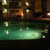 Photo taken at La Quinta Inn Orlando International Drive by Manuel U. on 11/14/2011