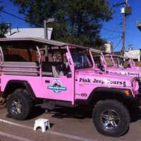 Photo taken at Pink Jeep Tours Sedona, AZ by Cheryl P. on 10/30/2011