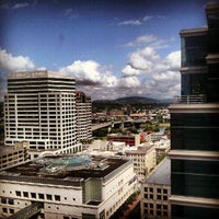 Photo taken at Hilton Portland & Executive Tower by Dave F. on 7/15/2012