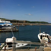 Photo taken at Bar Harbor Pier by Keith F. on 6/11/2012