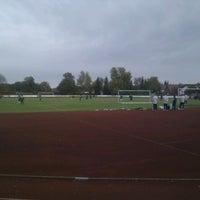 10/25/2011에 Stefan B.님이 TSG Giengen 1861 e. V. Stadion에서 찍은 사진