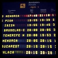 Photo taken at Aeroport de València (VLC) by Onpu T. on 8/16/2012