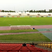 Photo taken at 700th Anniversary Chiangmai Sports Complex by Aom N. on 7/22/2012